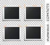 template paper photo frame set. ...   Shutterstock .eps vector #1129476773