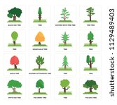 set of 16 icons such as the...