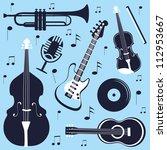an illustration of various... | Shutterstock .eps vector #112953667