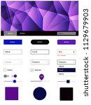 dark pink  blue vector material ...