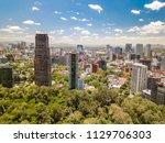 mexico city  mexico   circa... | Shutterstock . vector #1129706303