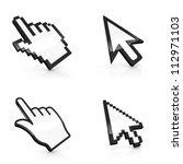 3d illustration of four types... | Shutterstock . vector #112971103