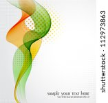 vector abstract background | Shutterstock .eps vector #112973863