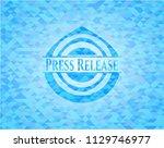 press release realistic light... | Shutterstock .eps vector #1129746977