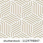 abstract geometric pattern with ... | Shutterstock . vector #1129798847