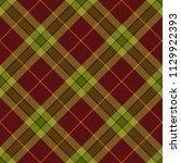 seamless tartan vector pattern   Shutterstock .eps vector #1129922393