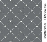 seamless crown pattern on a...