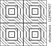 design seamless monochrome... | Shutterstock .eps vector #1129987457