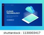 homepage. header for website...   Shutterstock .eps vector #1130003417
