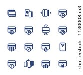 credit cards icons set for...