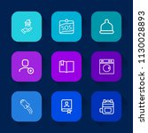 modern  simple vector icon set... | Shutterstock .eps vector #1130028893