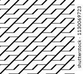 design seamless monochrome... | Shutterstock .eps vector #1130069723