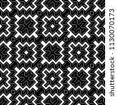 design seamless monochrome... | Shutterstock .eps vector #1130070173