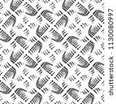 design seamless monochrome... | Shutterstock .eps vector #1130080997