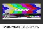 error vhs vector cover phrase... | Shutterstock .eps vector #1130194247
