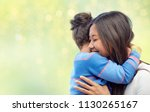 family  motherhood and people... | Shutterstock . vector #1130265167