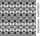 seamless geometric native... | Shutterstock .eps vector #1130375027