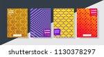 modern geometric background...   Shutterstock .eps vector #1130378297