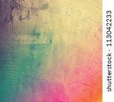 grunge gray paper texture ... | Shutterstock . vector #113042233