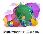 people taking care of... | Shutterstock .eps vector #1130566187