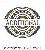 additional arabesque style... | Shutterstock .eps vector #1130659343