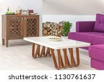 interior of a living room in... | Shutterstock . vector #1130761637
