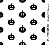seamless pattern with black... | Shutterstock .eps vector #1130796173