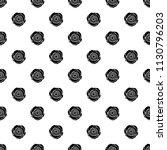 seamless pattern with black... | Shutterstock .eps vector #1130796203