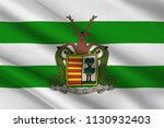 flag of hasselt is a city and... | Shutterstock . vector #1130932403
