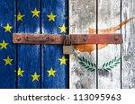 European Union Flag With The...