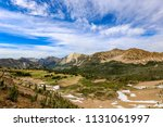 white cloud wilderness near sun ... | Shutterstock . vector #1131061997