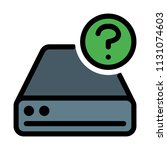disk drive question | Shutterstock .eps vector #1131074603