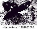 distressed background in black... | Shutterstock .eps vector #1131075803