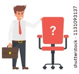 a businessman standing nearby...   Shutterstock .eps vector #1131093137