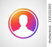 social media icon user. insta...