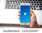 lamphun  thailand   july 8 ... | Shutterstock . vector #1131120347