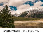 beautiful canadian mountains... | Shutterstock . vector #1131122747