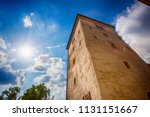 lotrscak tower in zagreb ... | Shutterstock . vector #1131151667