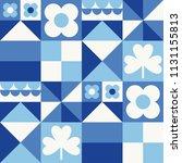 white  blue  navy geometric...   Shutterstock .eps vector #1131155813