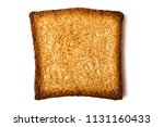 piece of delicious toast on... | Shutterstock . vector #1131160433