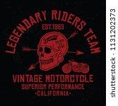 california legendary riders... | Shutterstock .eps vector #1131202373