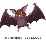 illustration of cute cartoon... | Shutterstock .eps vector #113123023