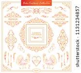 vector boho  ethnic style...   Shutterstock .eps vector #1131234857