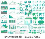 new style web elements... | Shutterstock . vector #113127367