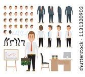 business man character for...   Shutterstock .eps vector #1131320903
