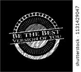 be the best version of you... | Shutterstock .eps vector #1131429047