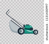 lawn mower machine icon... | Shutterstock .eps vector #1131430997
