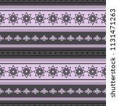 seamless vector decorative... | Shutterstock .eps vector #1131471263