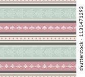 seamless vector decorative... | Shutterstock .eps vector #1131471293