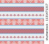 seamless vector decorative... | Shutterstock .eps vector #1131471317